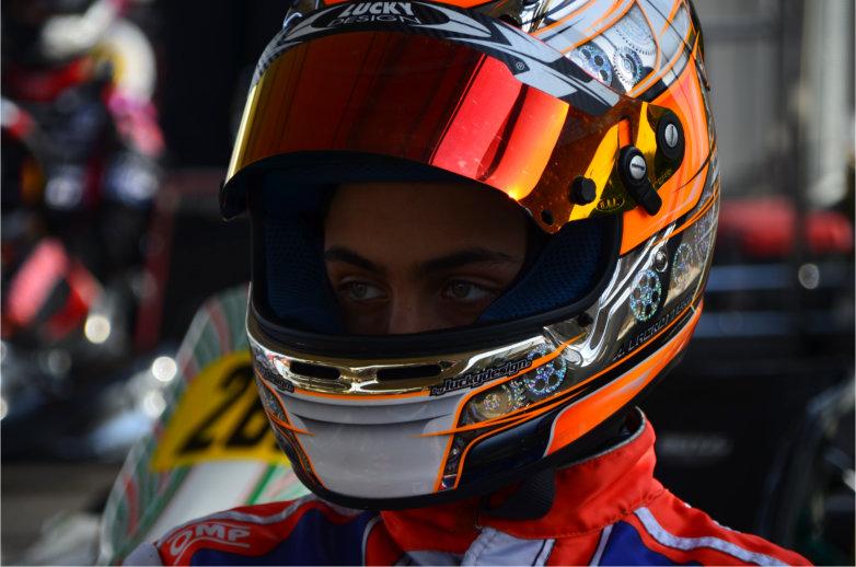 Toni Lagrotteria konzentriert sich