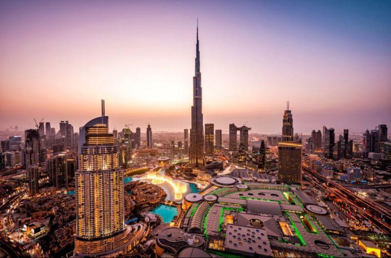 Stadtbild von Dubai
